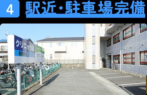 駅近・駐車場完備